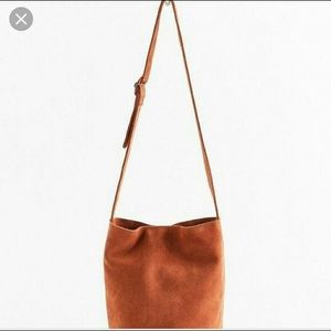 Urban Outfitters Suede Bucket Bag